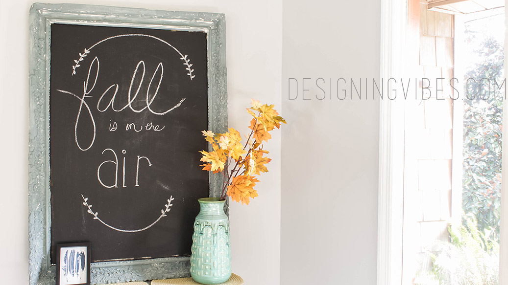 Simple, Neutral Fall Decor