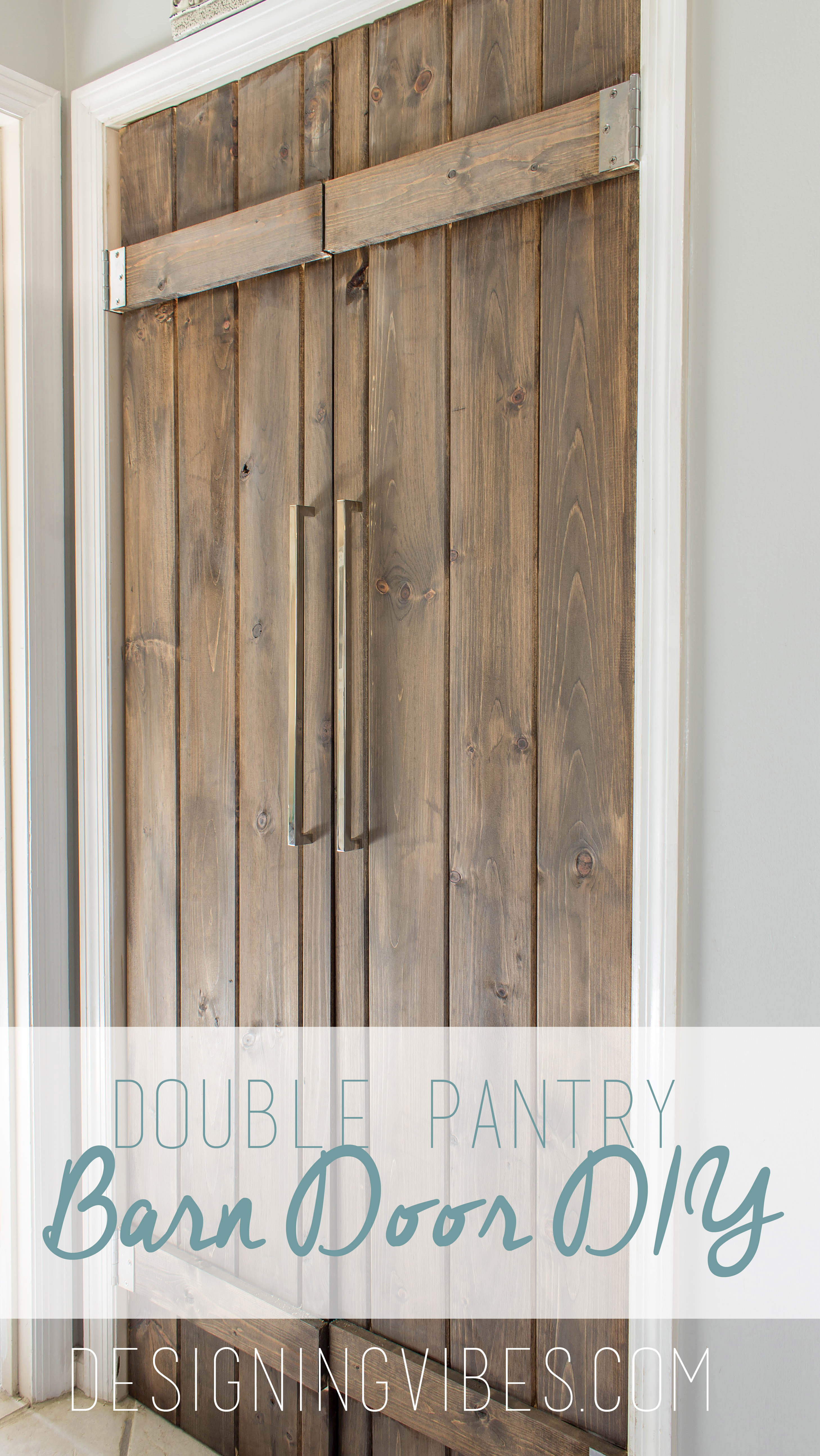 cheap barn door diy