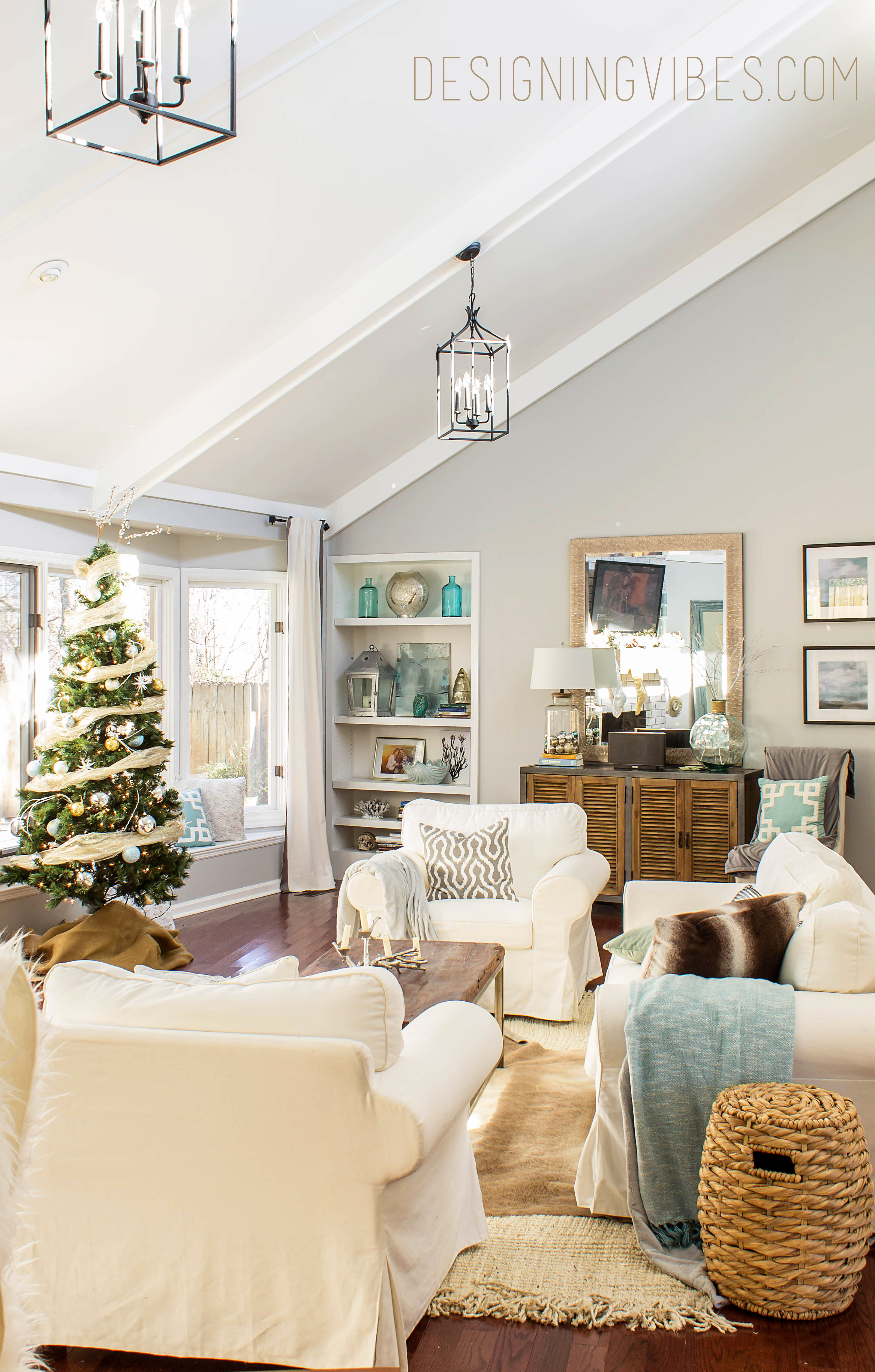 First christmas in my first fixer upper designing vibes for Drawing room design photos