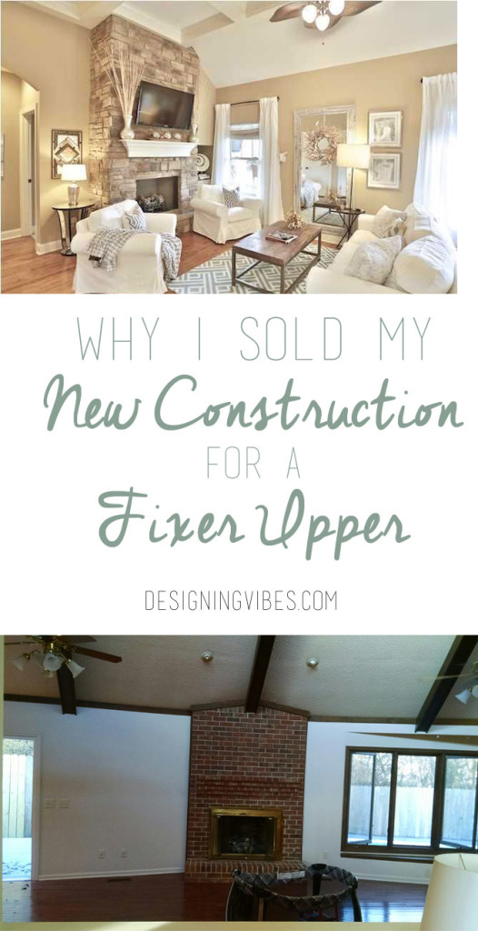 why i sold my new construction
