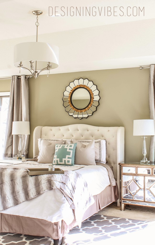 grey neutral bedroom