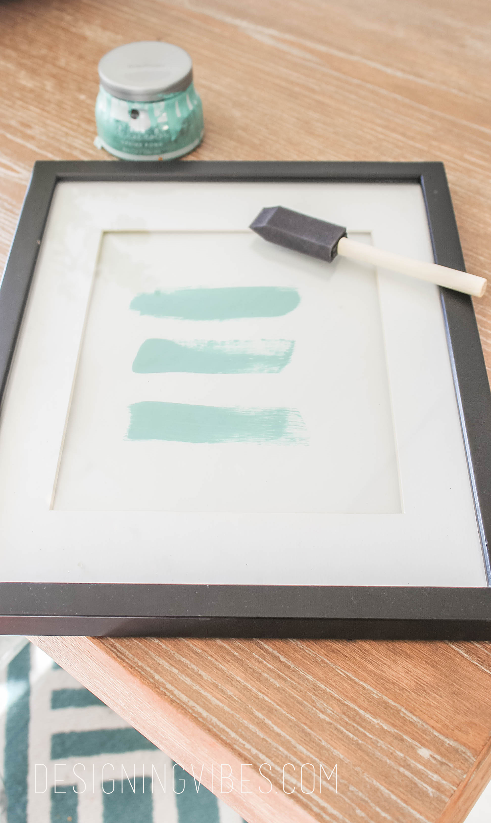 diy abstract art easy