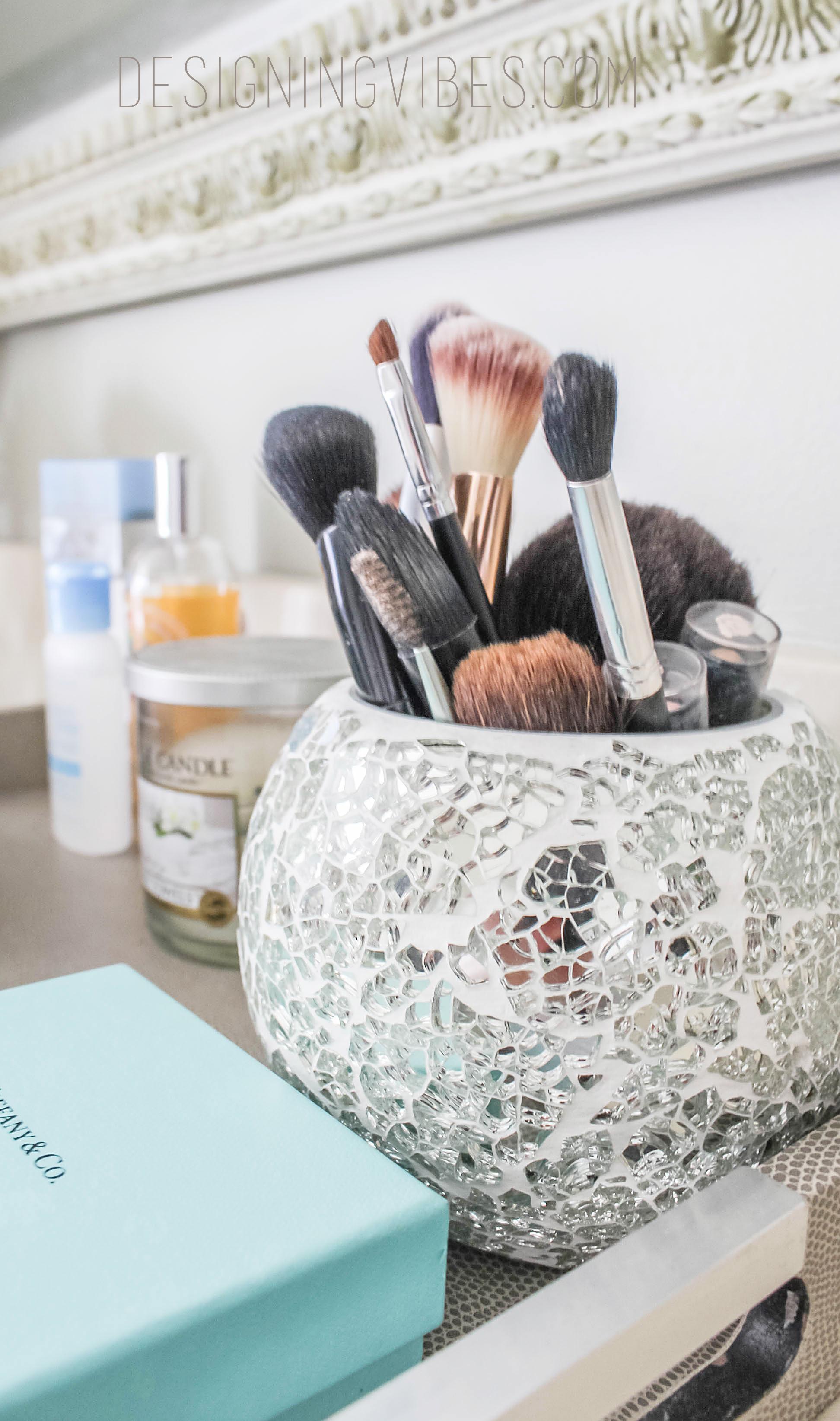 Makeup Vanity Makeover