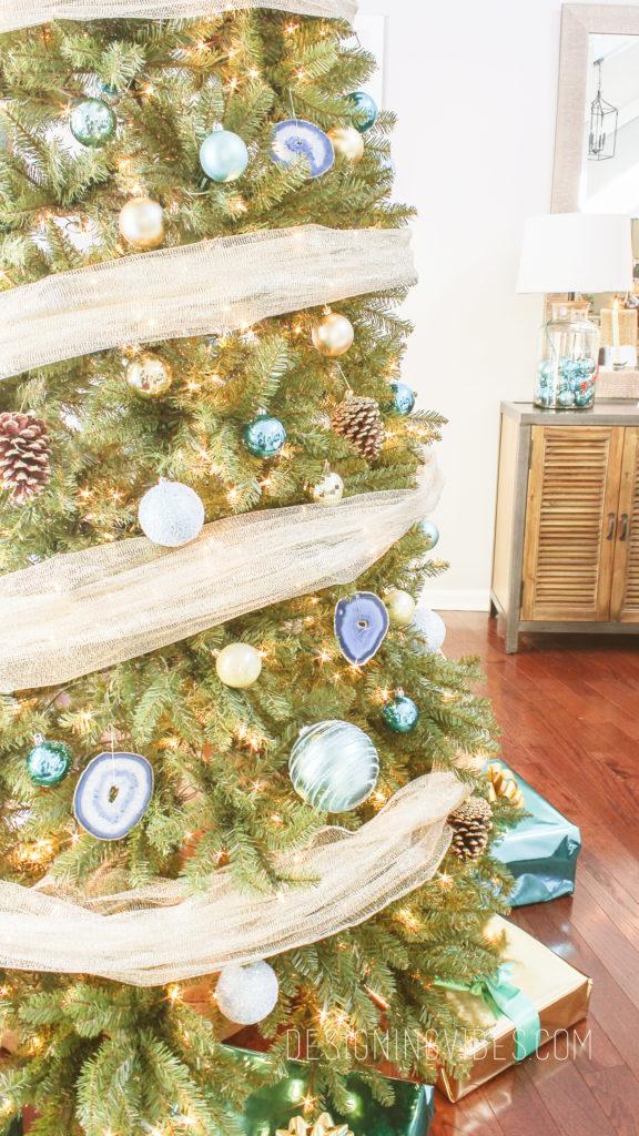 boho modern christmas tree
