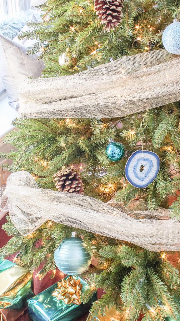 boho christmas tree
