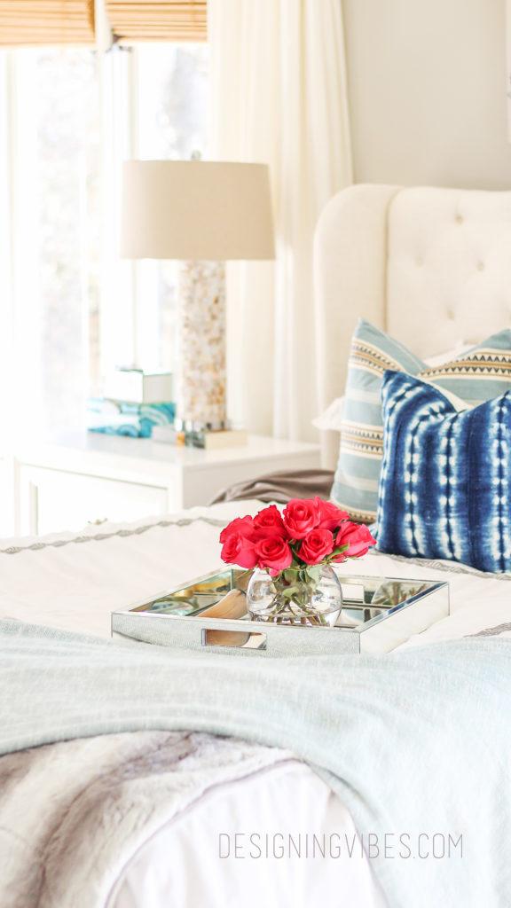 boho chic bedroom reveal