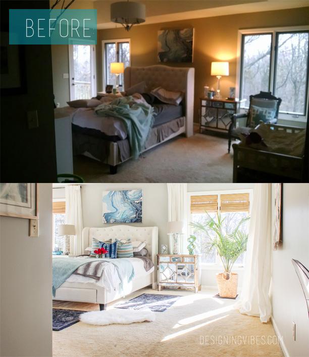 boho chic bedroom makeover