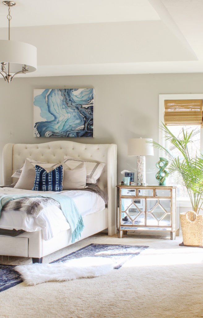 boho glam bedroom
