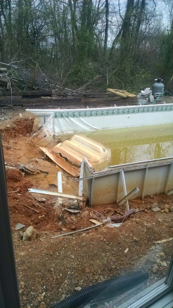 how to make an above ground pool look nice