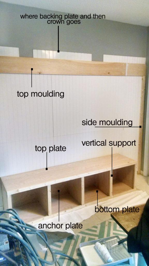 Diy Custom Mudroom For Under 200 Beadboard And Built In Bench Tutorial