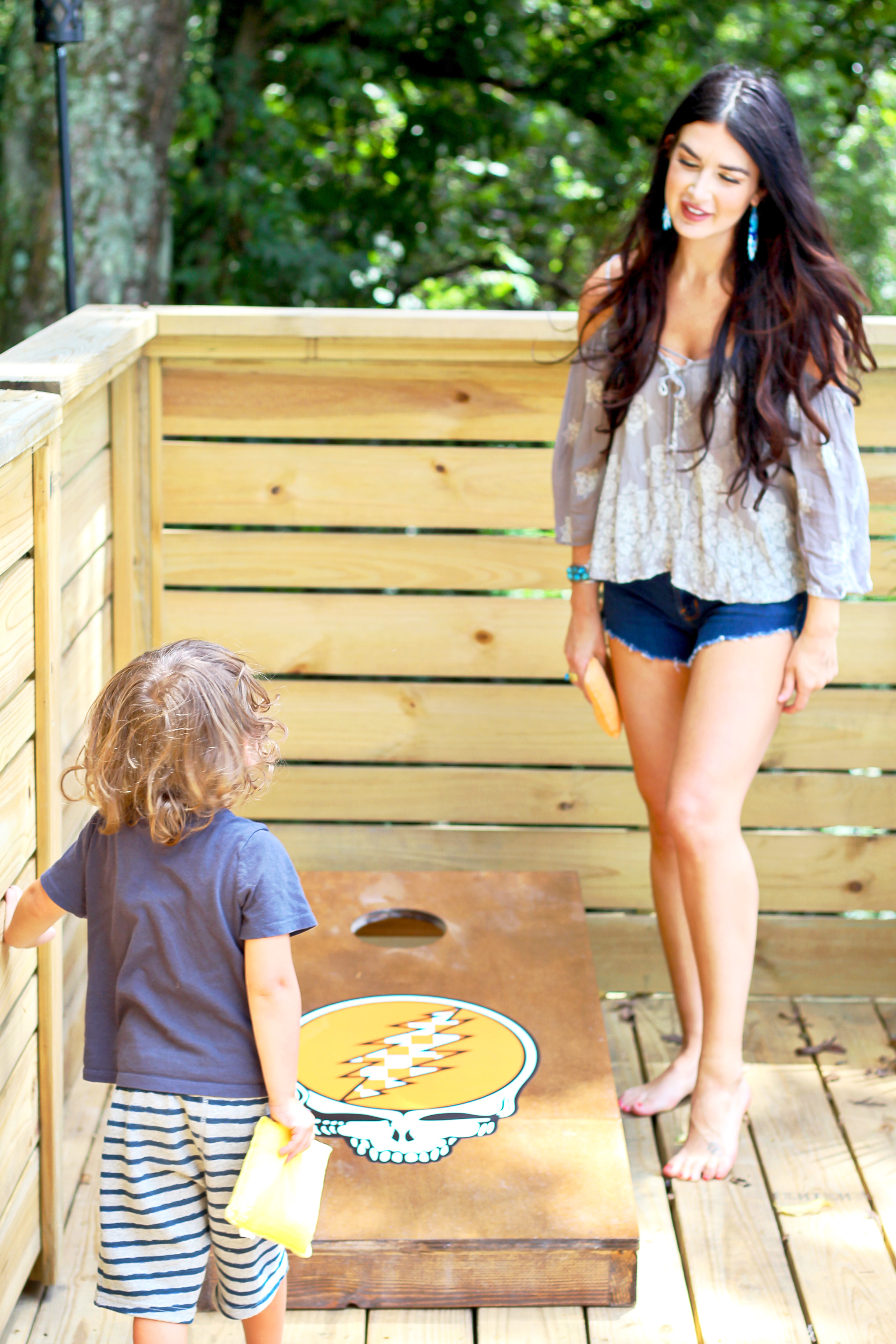 Custom Cornhole Boards DIY