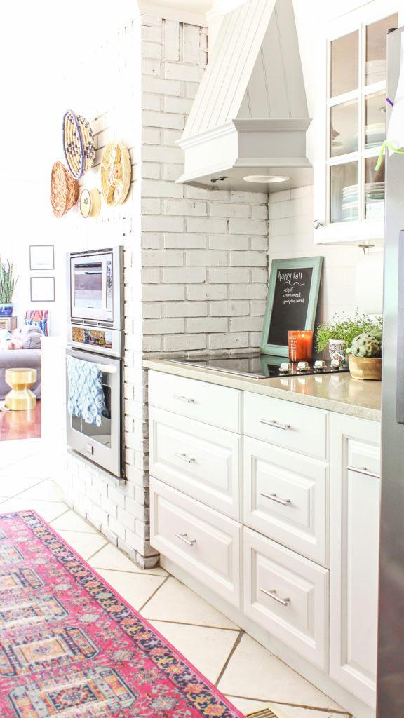 boho glam kitchen decor