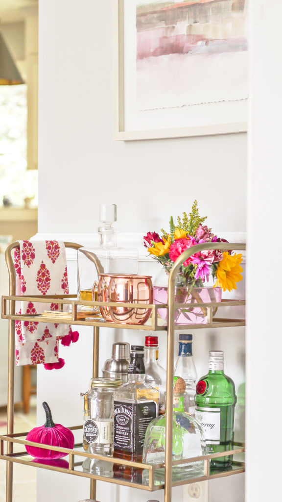 modern glam fall decor ideas