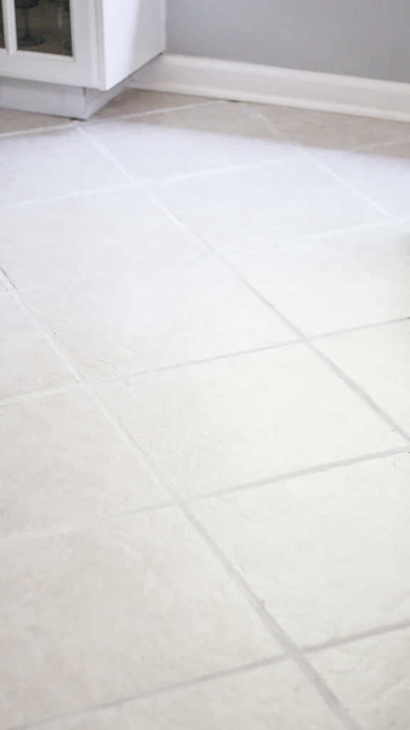 the easiest way to clean ceramic tile floors with grout haze