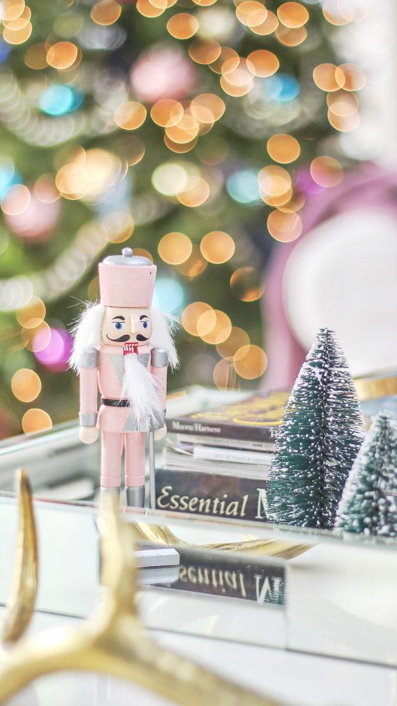Boho Chic Christmas Home Tour 2017 Part 1 Modern Christmas Decor
