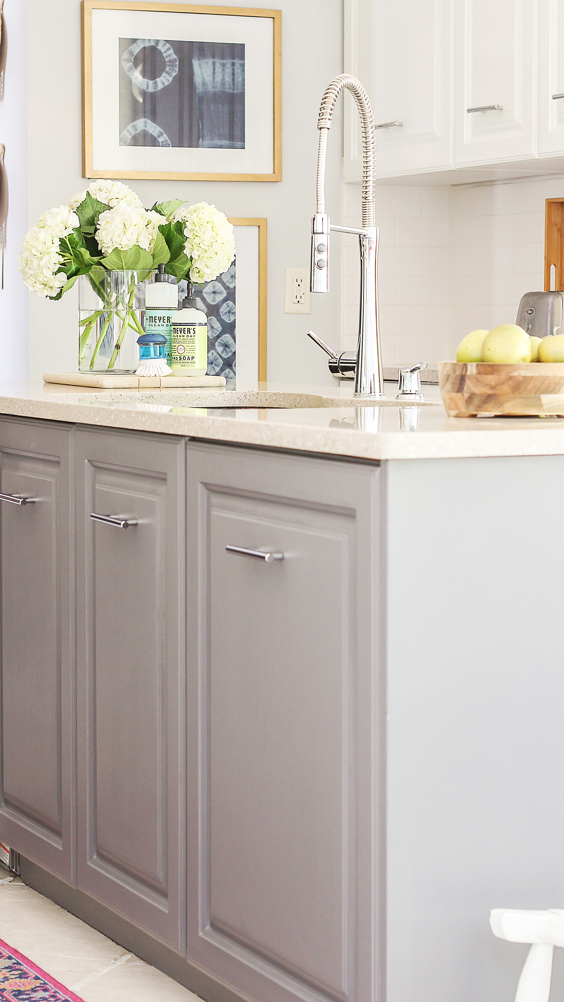 milk painted kitchen cabinets a review of my milk paint cabinets 6 month follow up 7503