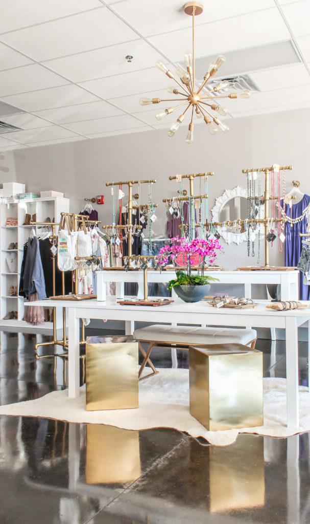 modern glam boutique
