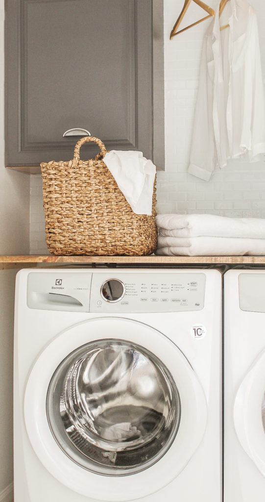 Diy Laundry Room Closet Makeover On The Cheap Modern