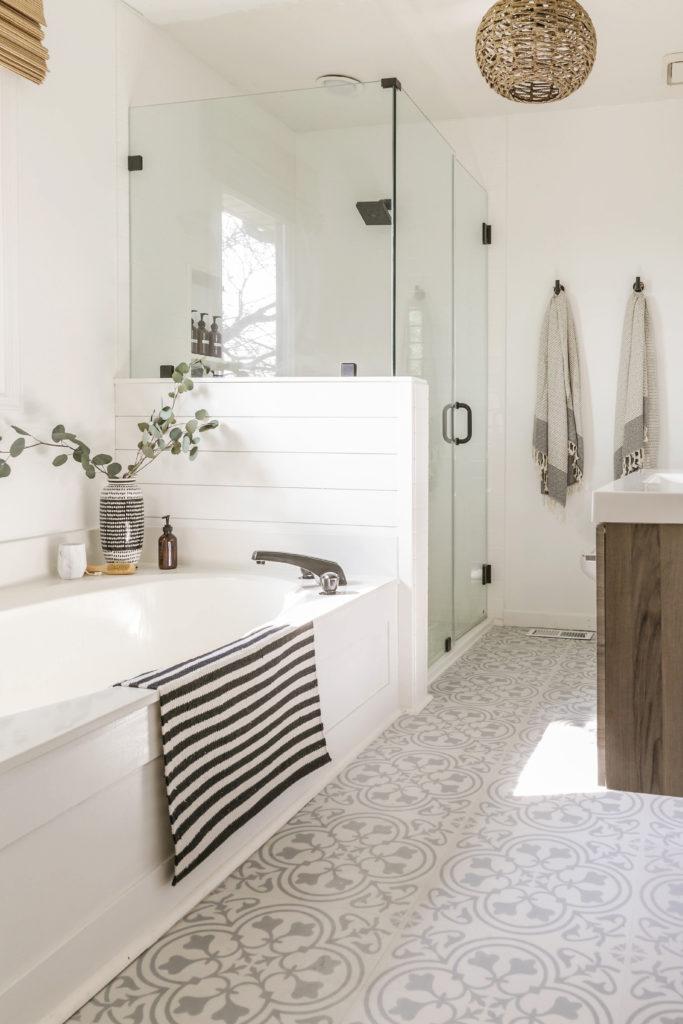 Lvt Flooring Over Existing Tile The, Can I Put Vinyl Flooring In Bathroom