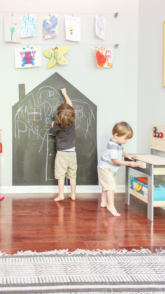 ways to hang kids art