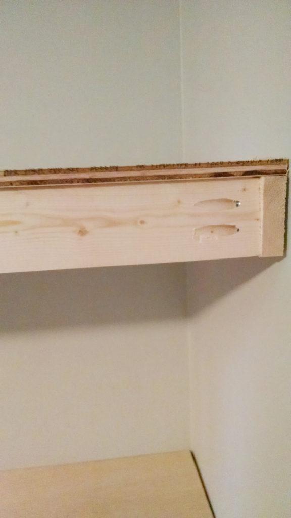 floating corner shelves diy