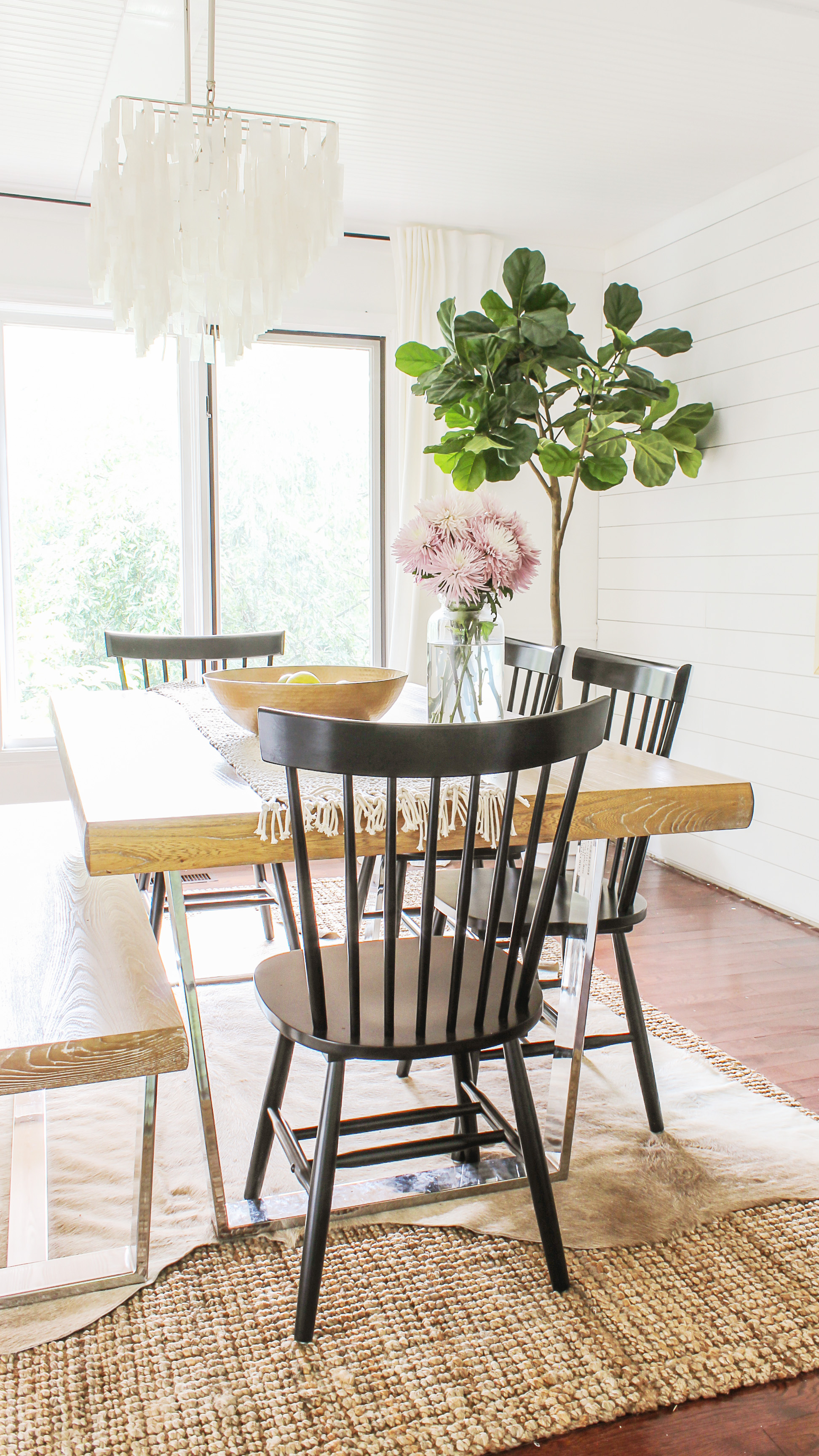 where to get modern farmhouse dining chairs on the cheap
