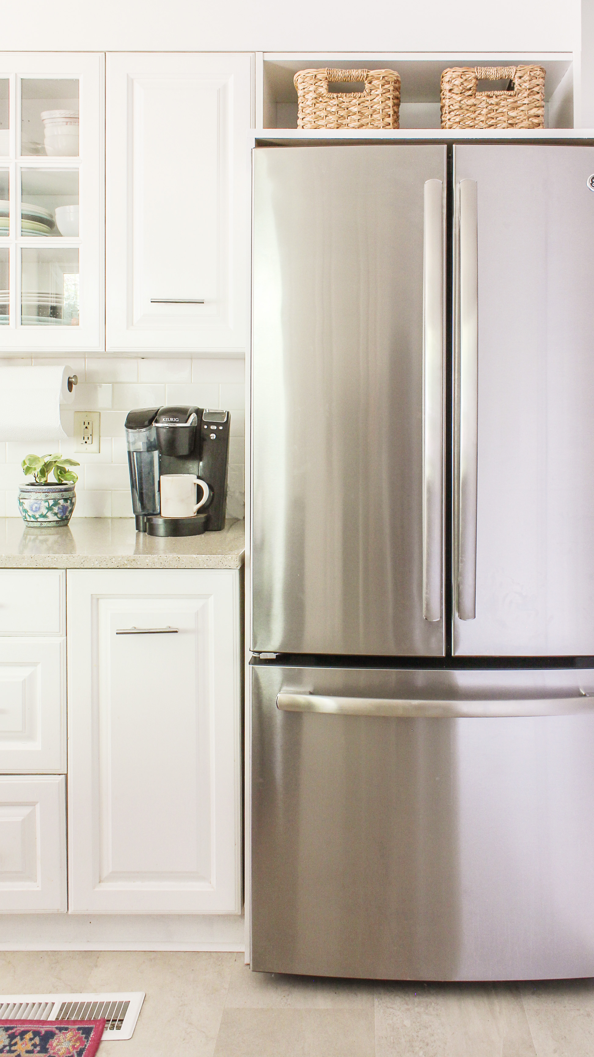 How to Frame a Refrigerator that is too Wide for Opening