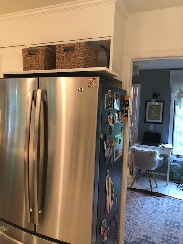 what to do when refrigerator is too wide