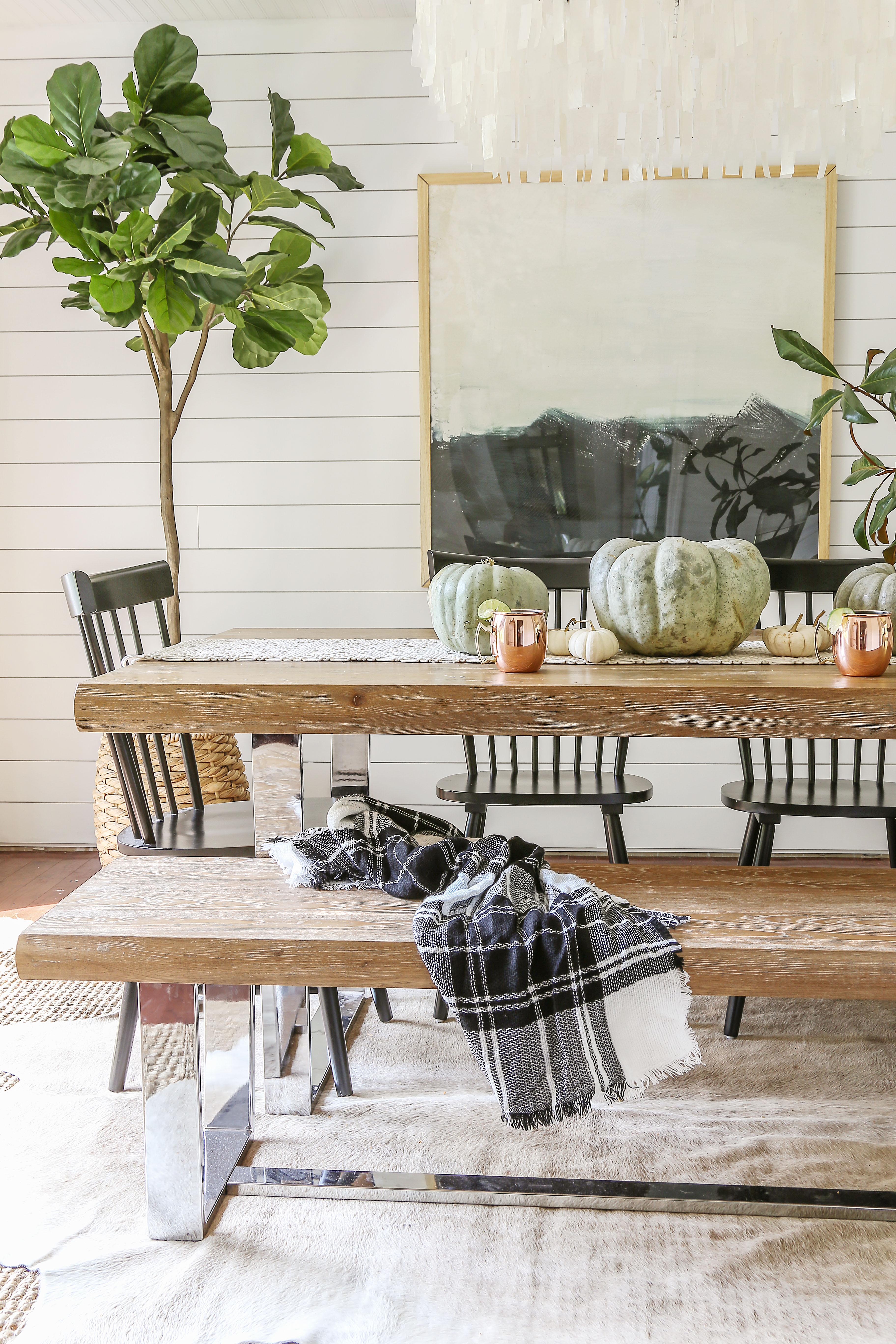 modern farmhouse fall decor