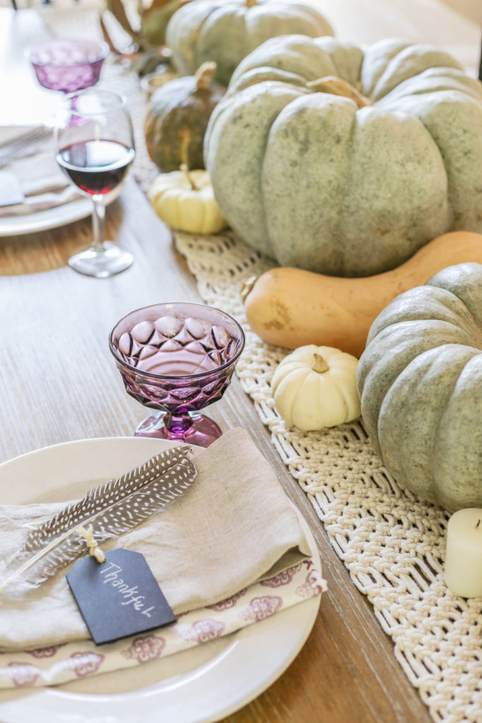 modern farmhouse thanksgiving table