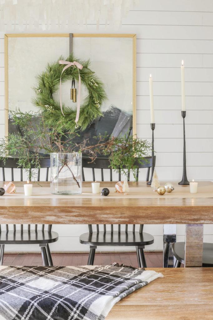 Modern farmhouse christmas dining room designing vibes - Modern farmhouse interior design ideas ...