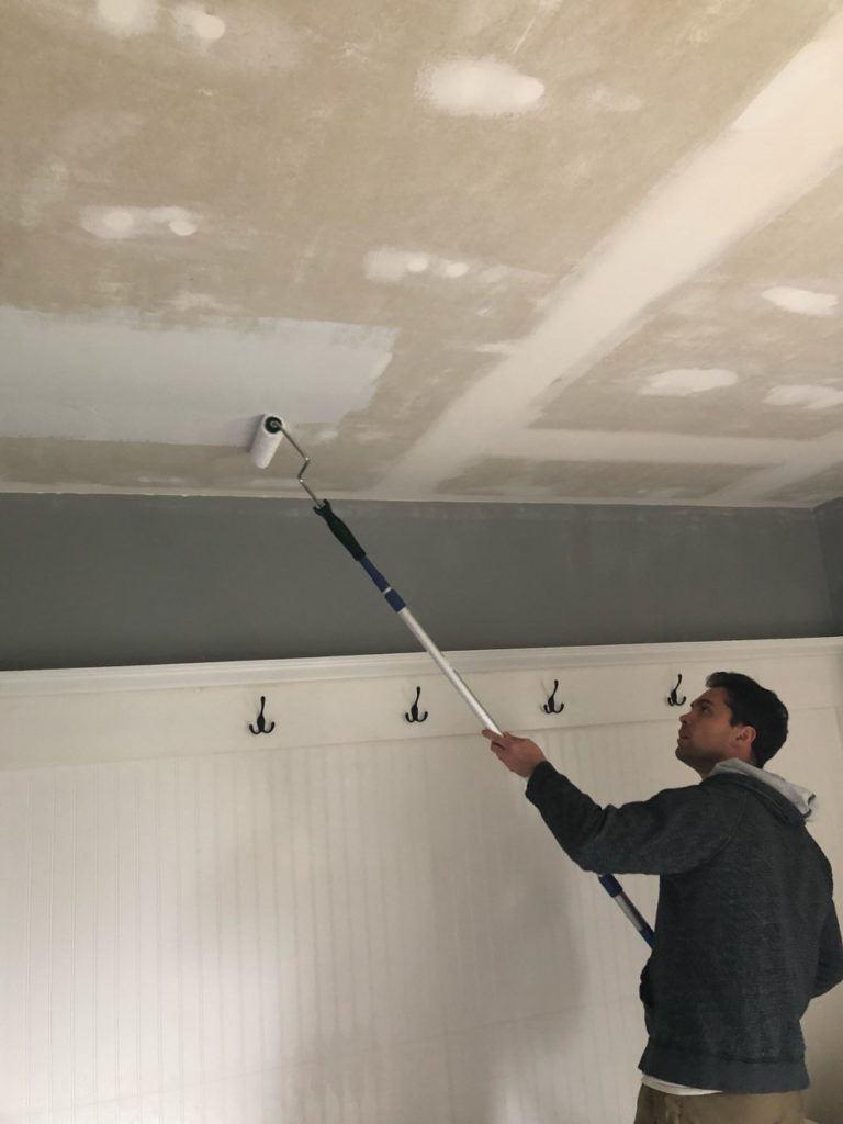 popcorn ceiling removal tutorial