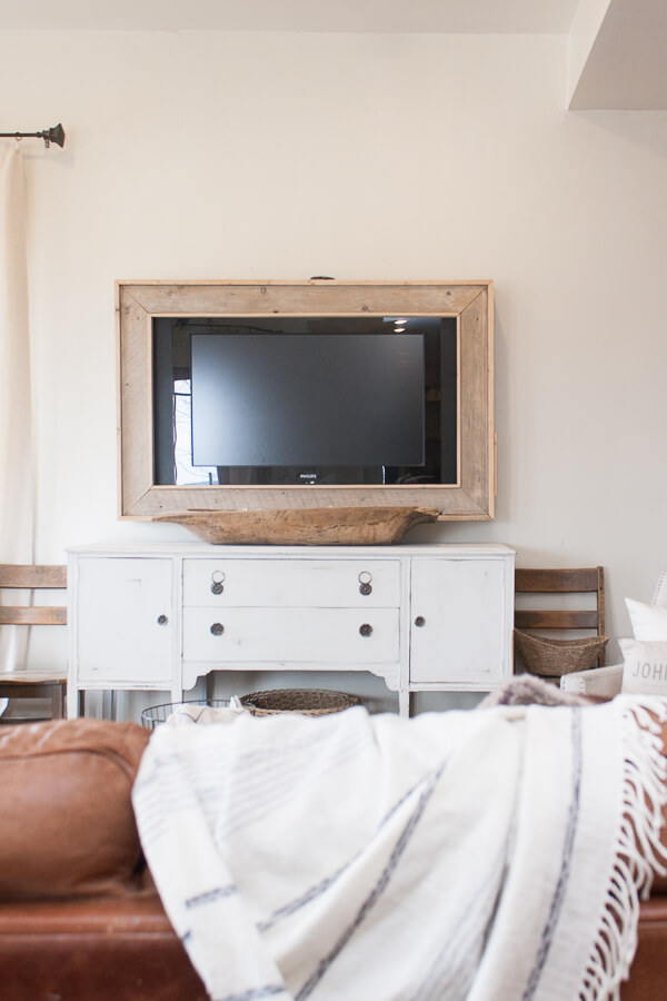 decorating with a tv in the living room