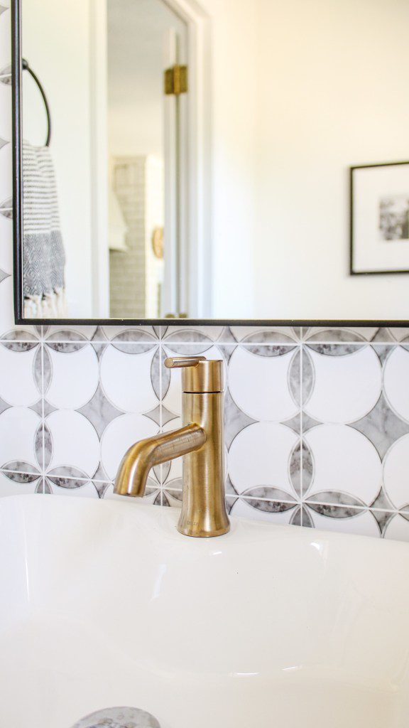 my experience with removable backsplash tile wallpaper