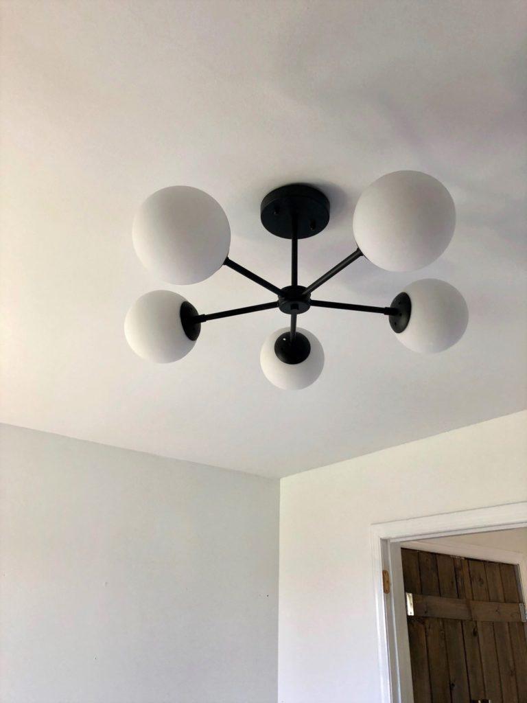 DIY popcorn ceiling removal