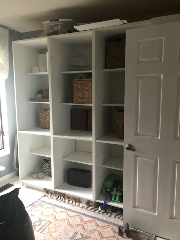 diy lower cabinets before