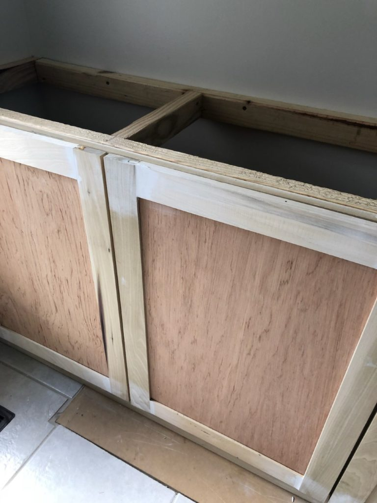 diy shaker style kitchen cabinets easy