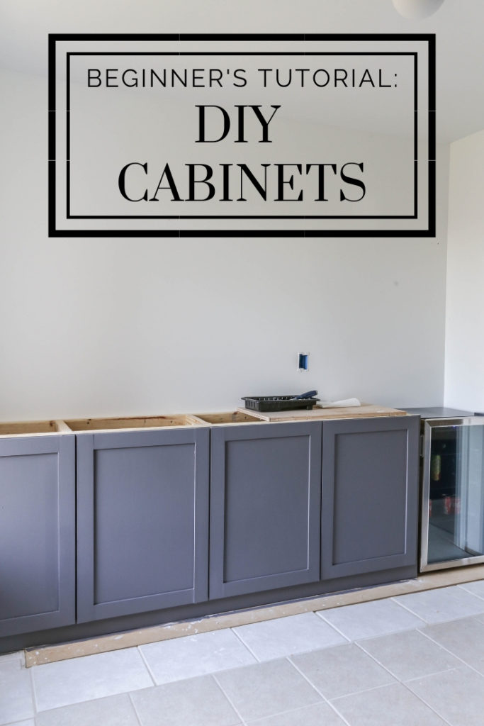 how to build shaker style cabinets