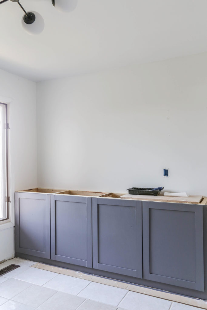 easiest way to build kitchen cabinets