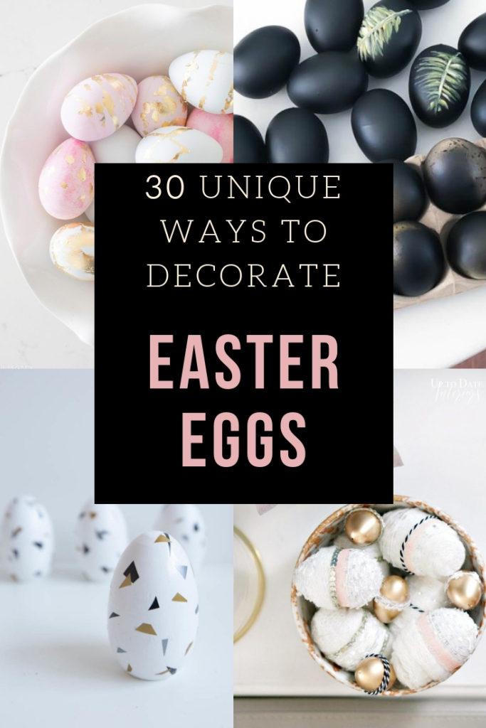 30 Unique Diy Easter Egg Ideas Spring Craft Tutorials