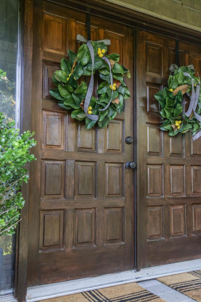 diy mofern farmhouse wreath for summer