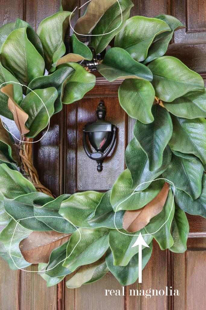 summer magnolia wreath diy