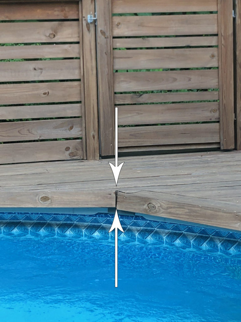 My Above Ground Pool Deck A Two Year Follow Up Review