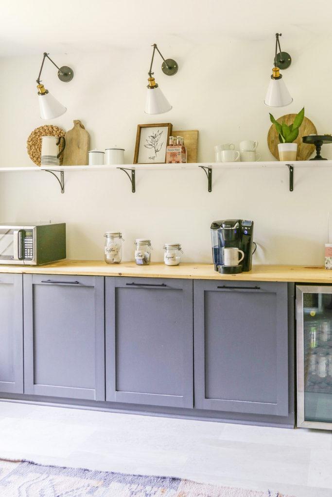 farmhouse butler pantry build