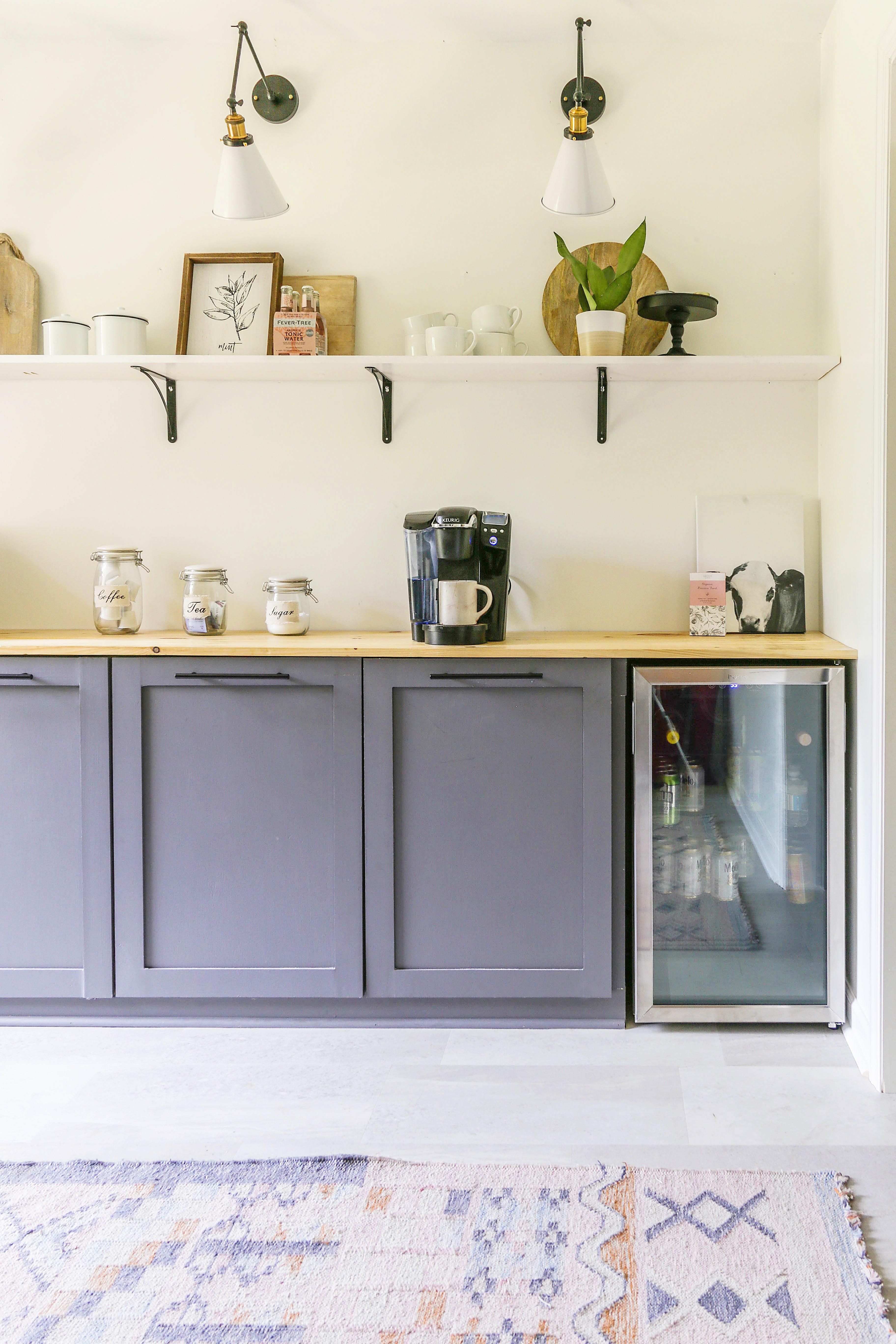 modern farmhouse butler pantry