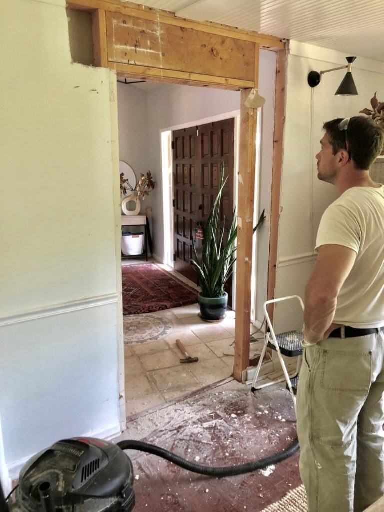 what it's like to live in a fixer upper