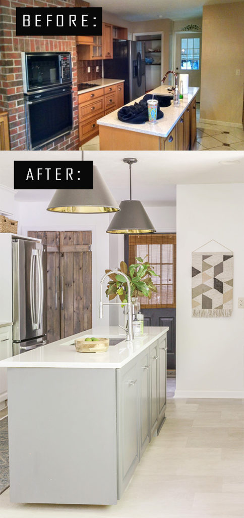 how i transformed my kitchen on a budget
