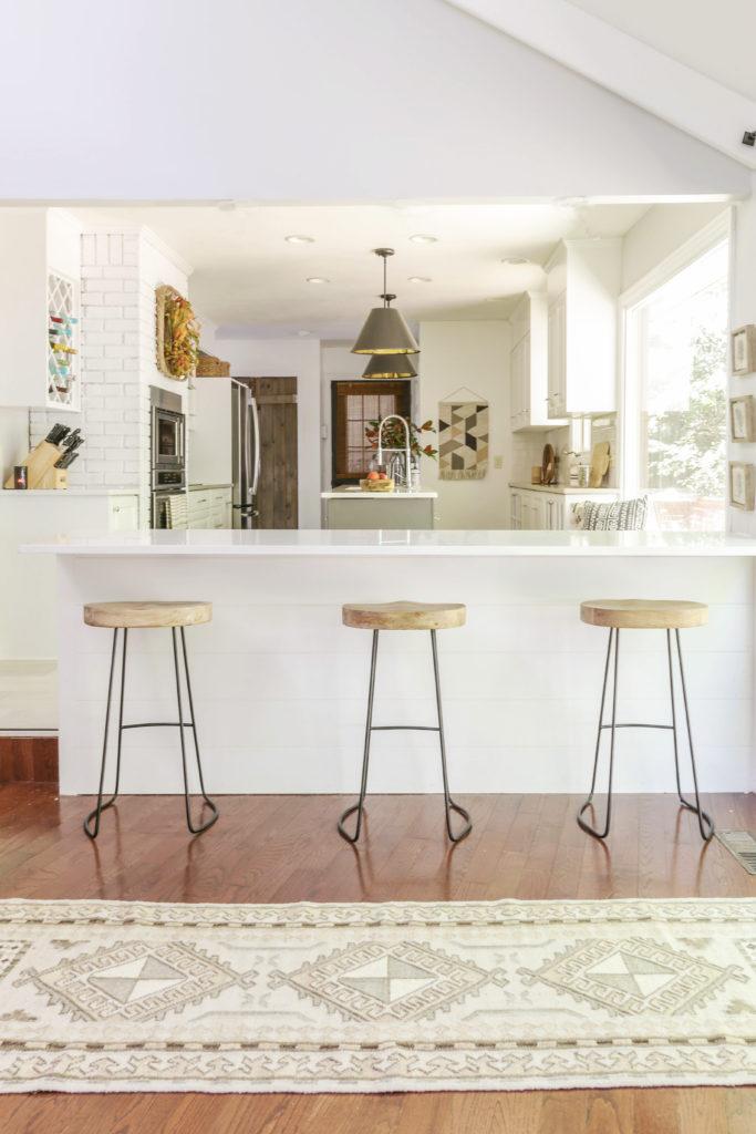 fall home tour with modern farmhouse decor