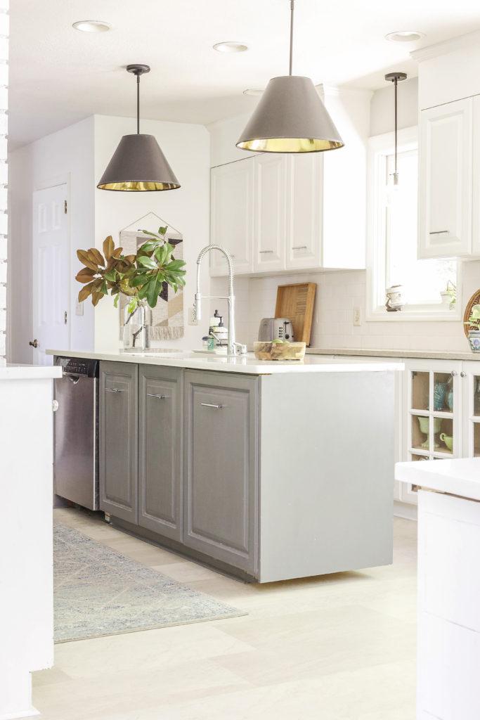 diy kitchen transformation on a budget