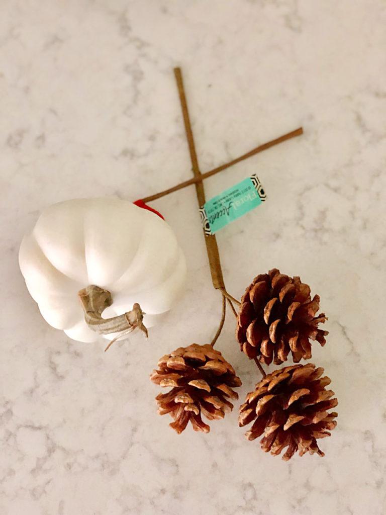 neutral fall wreath tutorial